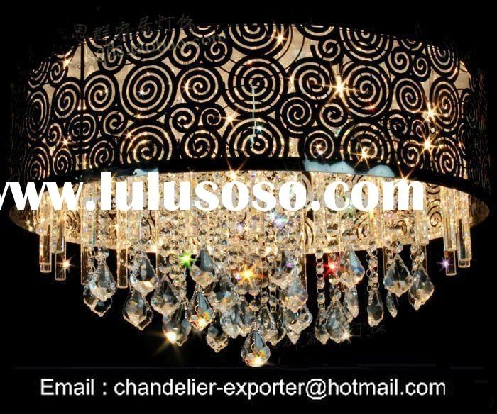 Fine black japanese silk samples modern chandelier black shade fine black japanese silk samples modern chandelier black shadecrystal chandeliers ceiling lamp aloadofball Images