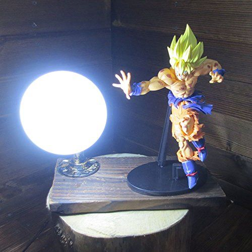 Dragon Ball Son Goku Red Genki Dama Spirit Bomb Led Table Lamp More Info Could Be Found At The Image Url Note It S An Affi Lamp Table Lamp Led Table Lamp