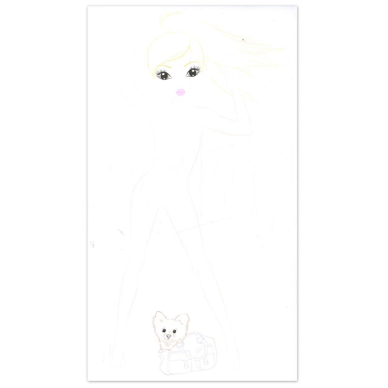 Topmodel Ausmalbilder Ohne Haare : 3999023b Jpg 1250 1250 Coloring Pages Pinterest