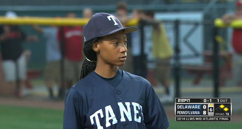 Mo Ne Davis Extraordinary Pitching Leads Team To Little League World Series With Images Little League League Youth Baseball