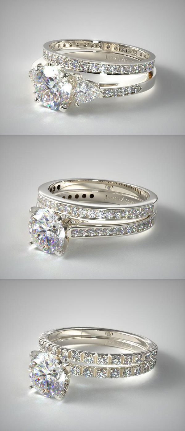 25 Diamond Bridal Rings Sets That Will Make Up The Perfect Pair Wedding Rings For Bride