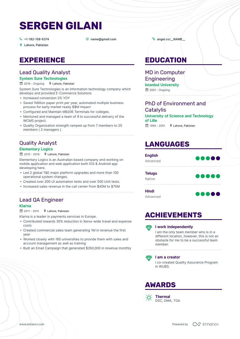 Quality Analyst Resume Samples A Step by Step Guide for 2020