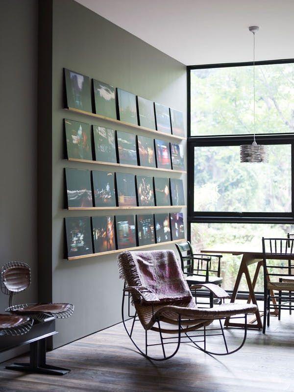 clever stylish ways to display art around your home pinterest ausfl ge raum und wohnen. Black Bedroom Furniture Sets. Home Design Ideas