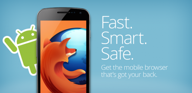 Firefox for Android Gets a Cool Update NFC, WebRTC and