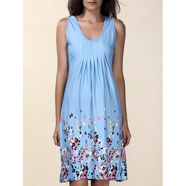 11.23$  Watch now - http://dixsj.justgood.pw/go.php?t=182552804 - Floral Print Mini Shift Dress 11.23$