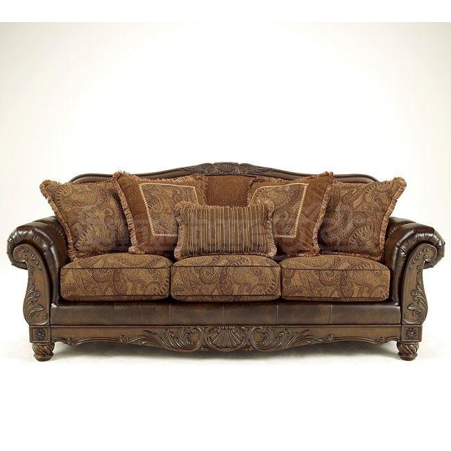Fresco Durablend Antique Sofa Sofas At Furniturepick