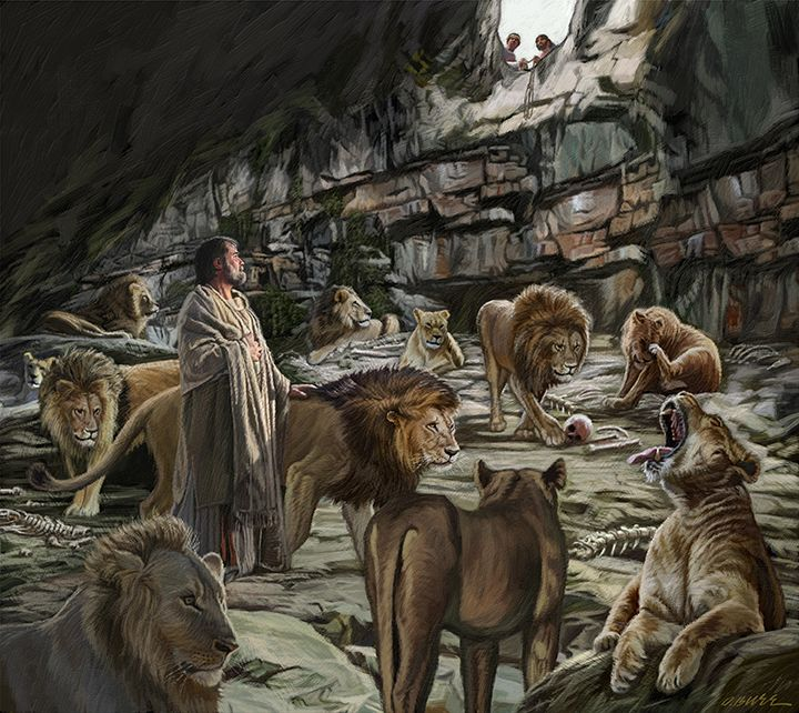Image result for daniel in the lion's den | Projects to ...