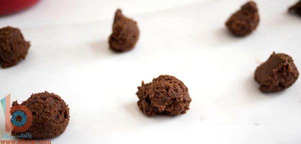 أفضل طريقة لعمل كوكيز الشوكولاته بالصور