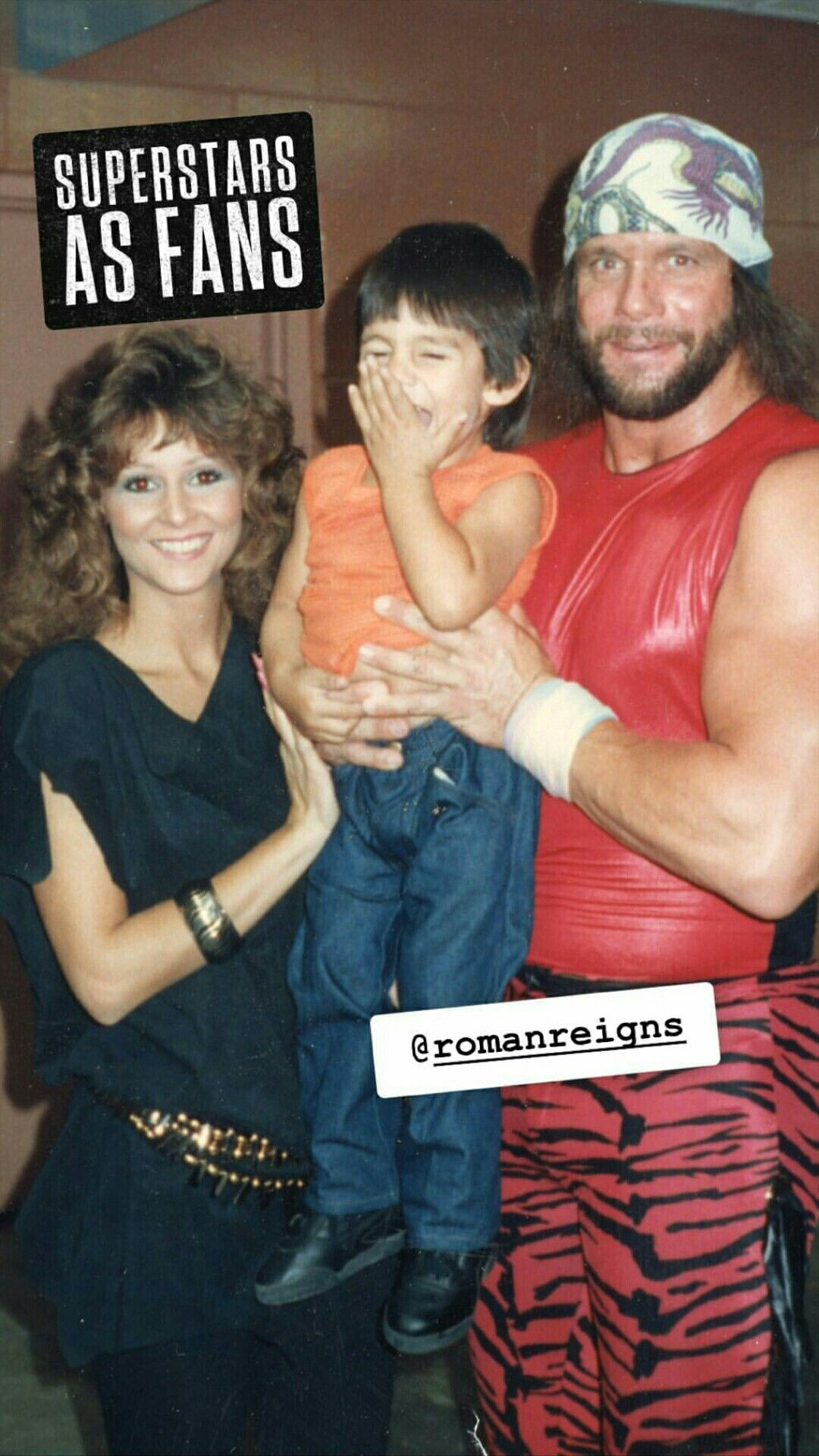 Classic Photo Of Wwe Hall Of Fame Legend Macho Man Randy Savage And His Wife Miss Elizabeth Roman Reigns Family Wwe Superstar Roman Reigns Roman Reigns Wife
