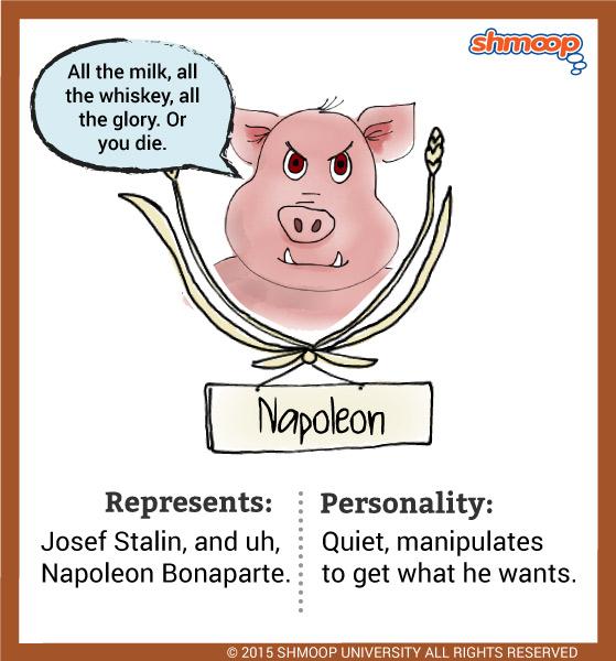 Napoleon A Pig Napoleon Animal Farm Animal Farm Book Animal Farm Orwell