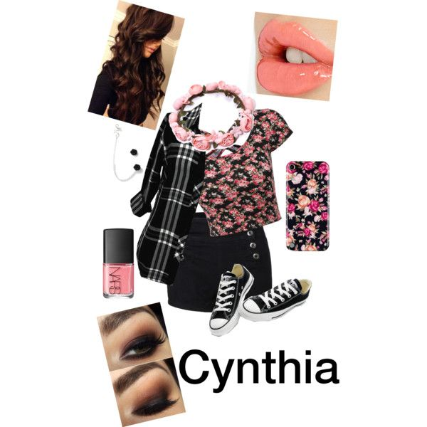 Cynthia by tigercub901 on Polyvore featuring polyvore, fashion, style, Rails, Converse, Charlotte Tilbury and NARS Cosmetics