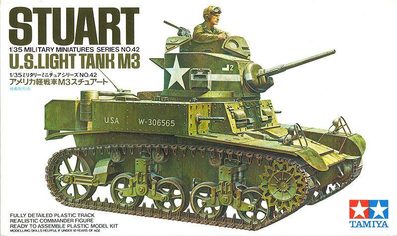 TAMIYA 35039 US M3 Lee Tank militaire 1:35 Modèle Kit