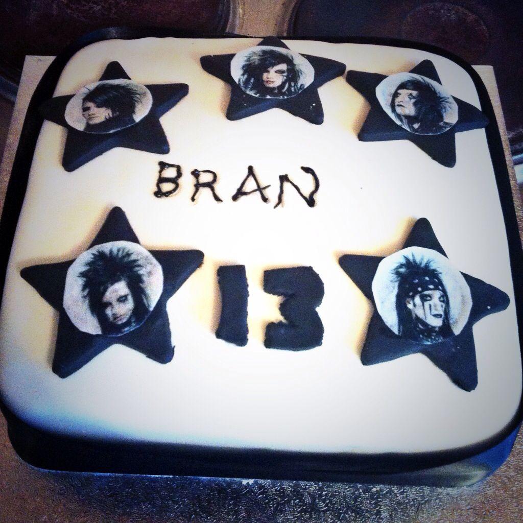 bvb cake black veil brides 3 Pinterest Emo style Cake and