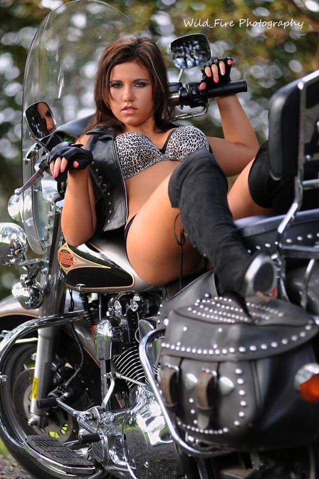 hot naked red head biker chicks