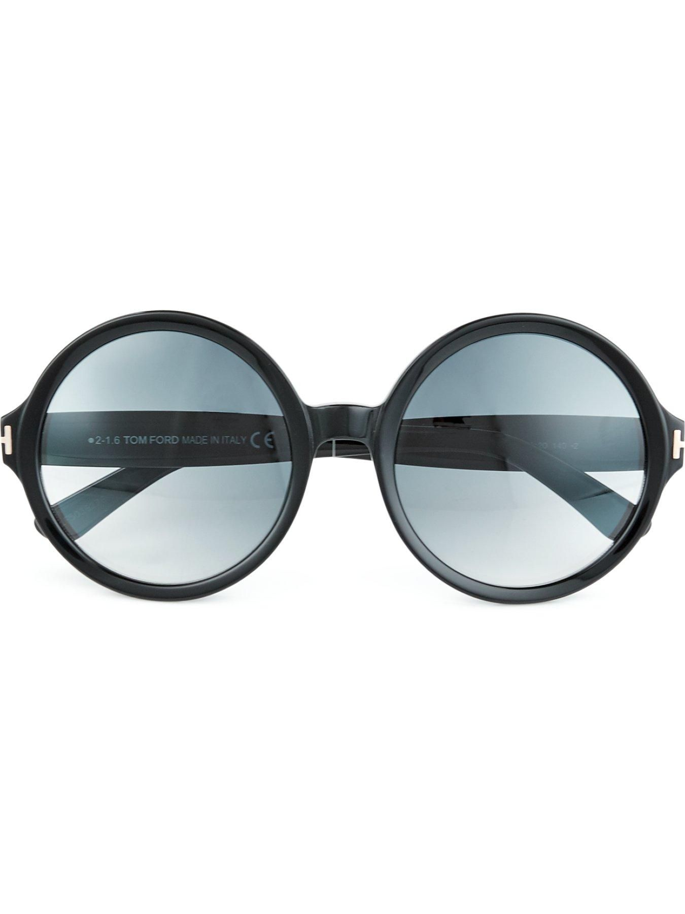 f07c3f41839 TOM FORD Juliet Oversized Round Frame Sunglasses - On Site Now ...