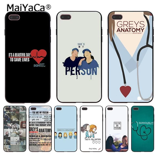 Greys Anatomy You're My Person Phone Case Coque For Fundas iPhone