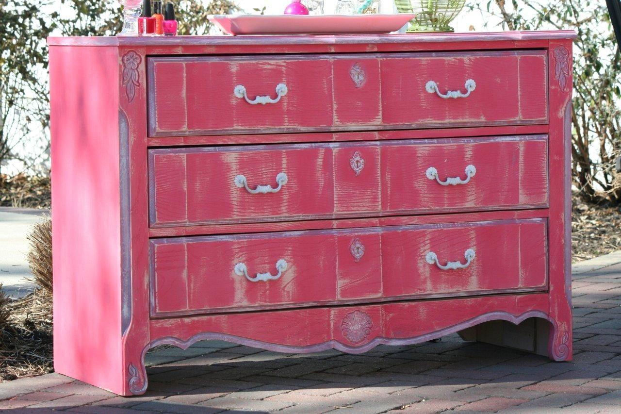 Best Fun Little Girls Dresser Using All Different Annie Sloan 400 x 300
