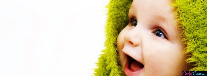 Small Cute Baby Happy Smile Facebook Covers