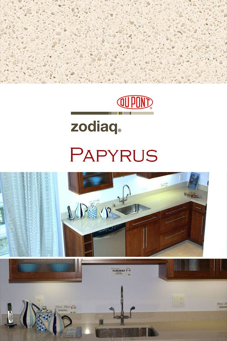 Papyrus By Zodiaq Is Perfect For A Kitchen Quartz Countertop Installation How To Install Countertops Quartz Kitchen Countertops Quartz Kitchen