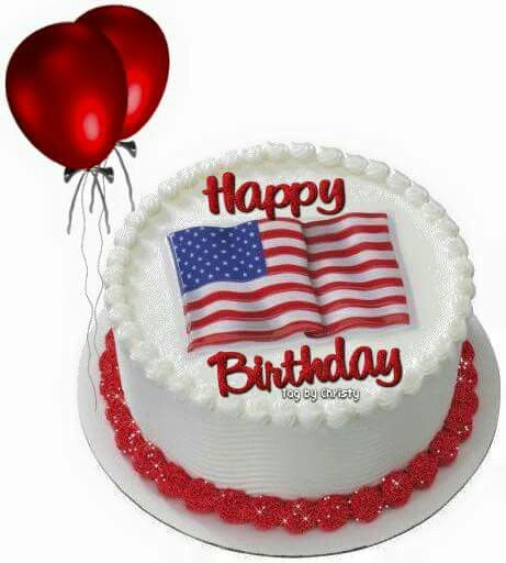 Happy Fourth Of July Birthday Birthday Greetings July Birthday