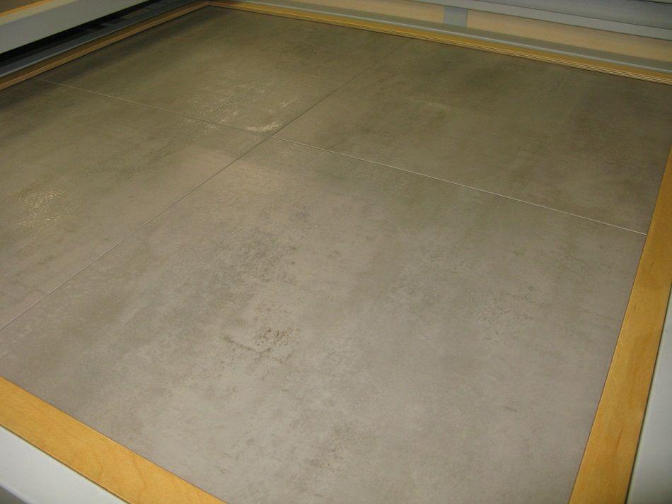 Carrelage 60x60 Elite Cemento Safe de Zirconio, idéal pour une - beton decoratif pour terrasse