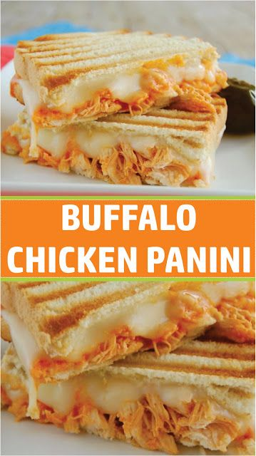 BUFFALO CHICKEN PANINI  #chicken #chickenrecipe #chickendinner #easyrecipe #easyfoodrecipes