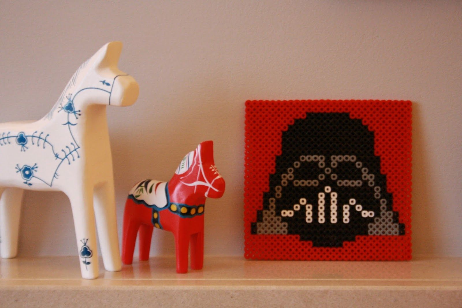 Tales from a happy house.: Hama Bead Coasters And Other Crafty Fun : Darth Vader