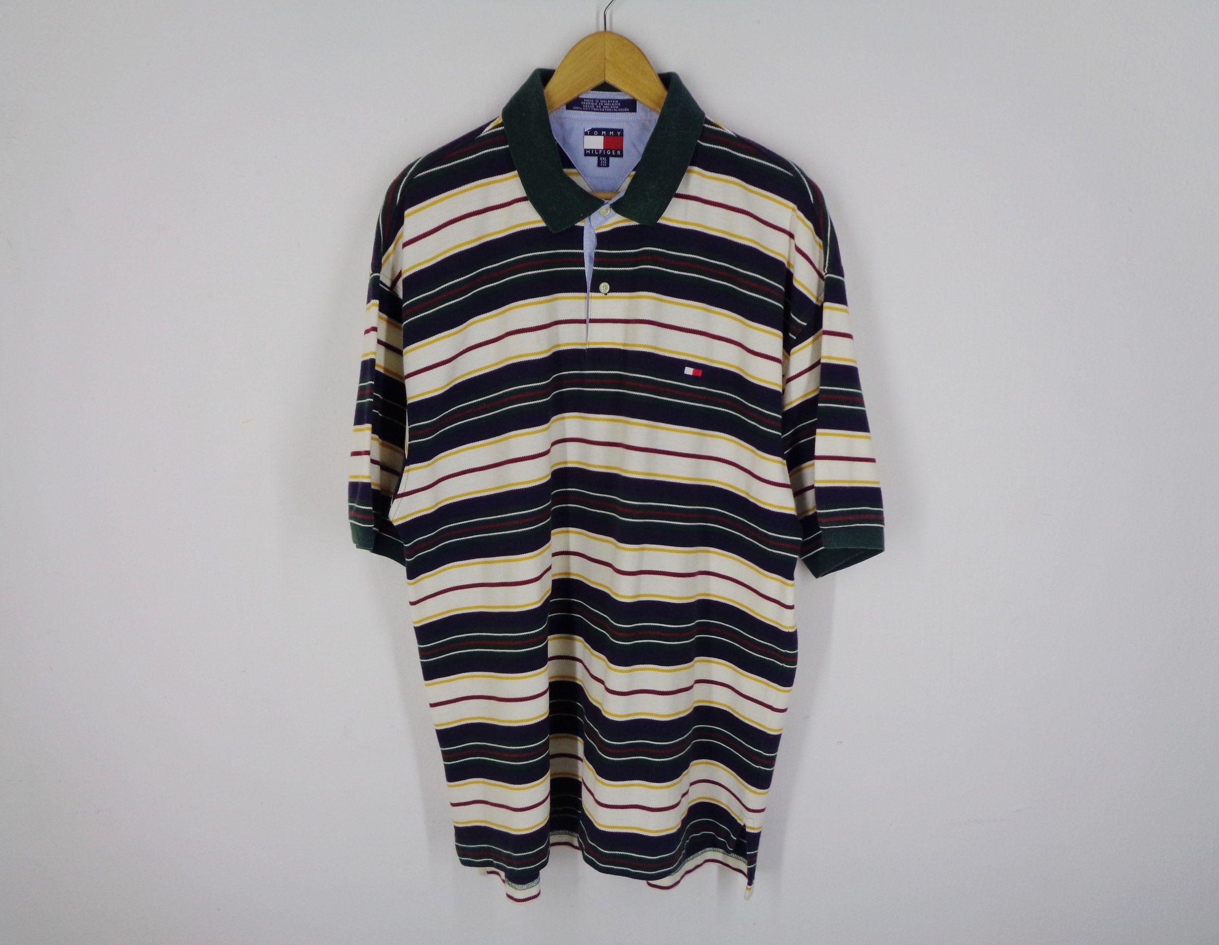 Tommy Hilfiger Shirt Vintage Tommy Hilfiger Polo Shirt