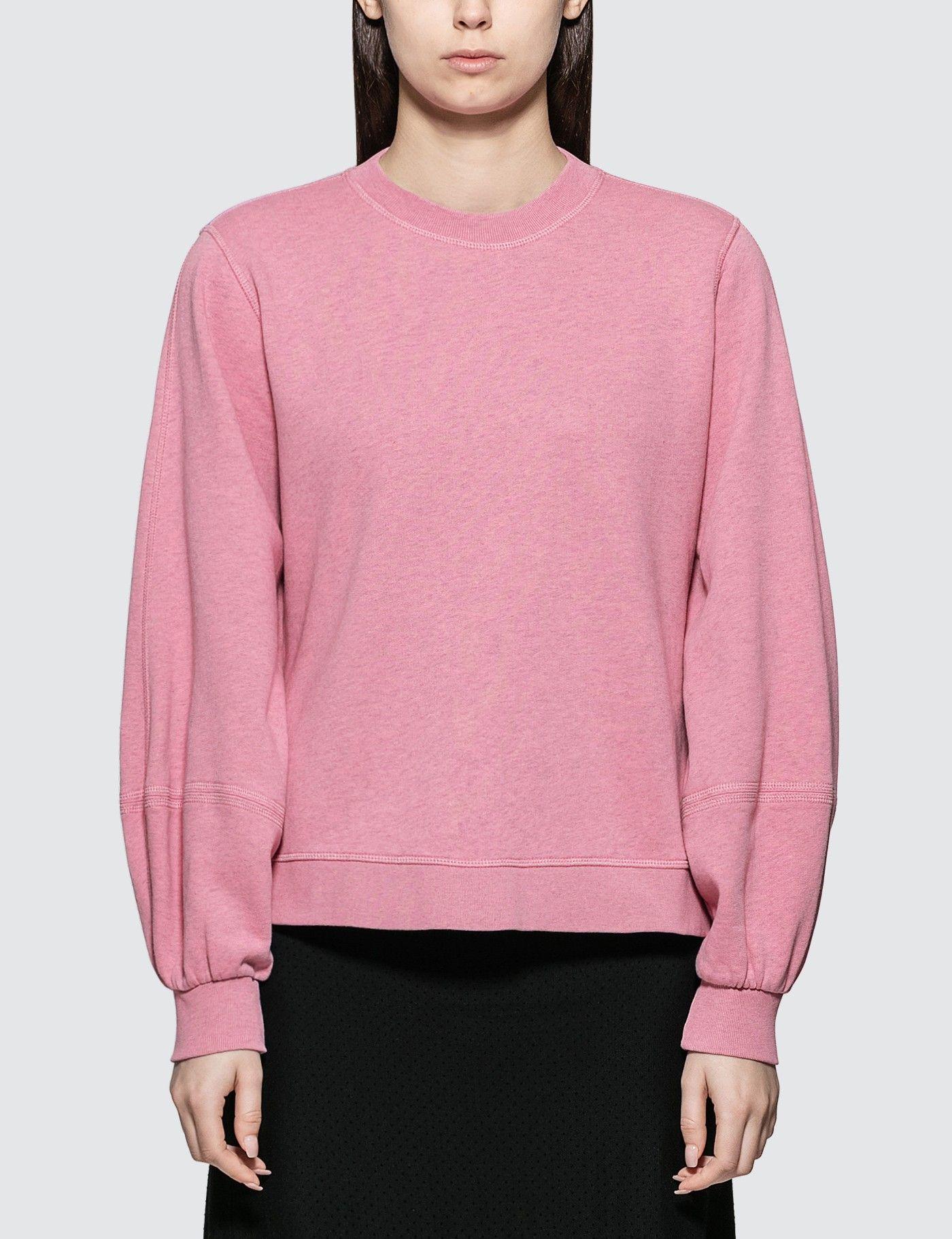 Ganni Isoli Sweatshirt Hbx Sweatshirts Shopping Outfit Fashion [ 1820 x 1400 Pixel ]