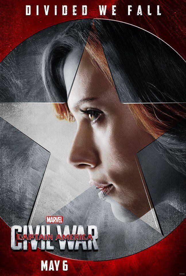 Black Widow #Teamironman Civil War