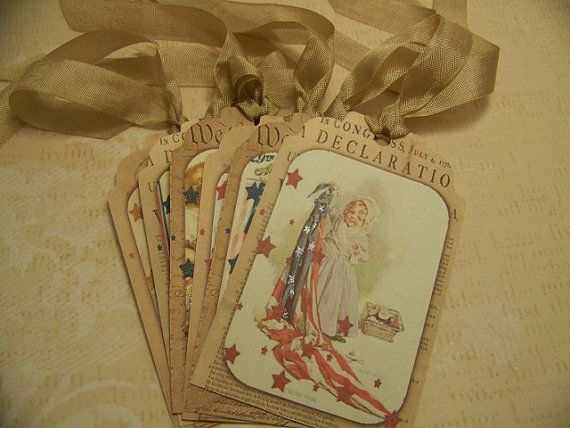4th of July  Americana  Memorial Day  Patriotic  by TheNestinSLT