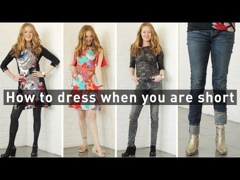 a9baadd713ec How to dress when you are short for women over 40 - fashion for women over  40 - YouTube