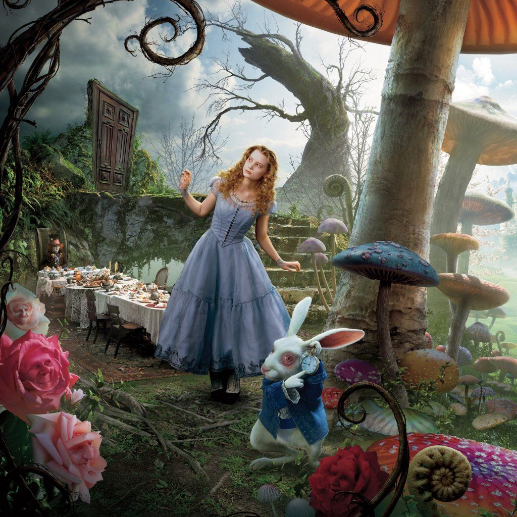 Alice In Wonderland Movie: Image Detail For -An Amazing Alice In Wonderland Tea Party