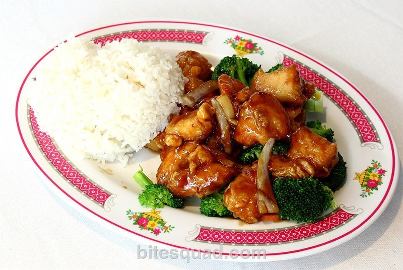 General tsaos chicken is always a good choice