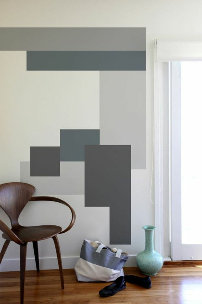 Choose your mural according to the latest trends 47 Photos | Peinture murale, Deco peinture ...