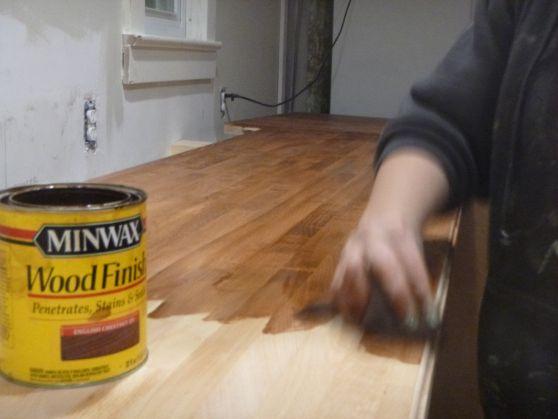 Kitchen Overhaul That S A Lot Of Wood Beech Wood Wood Countertops Countertops