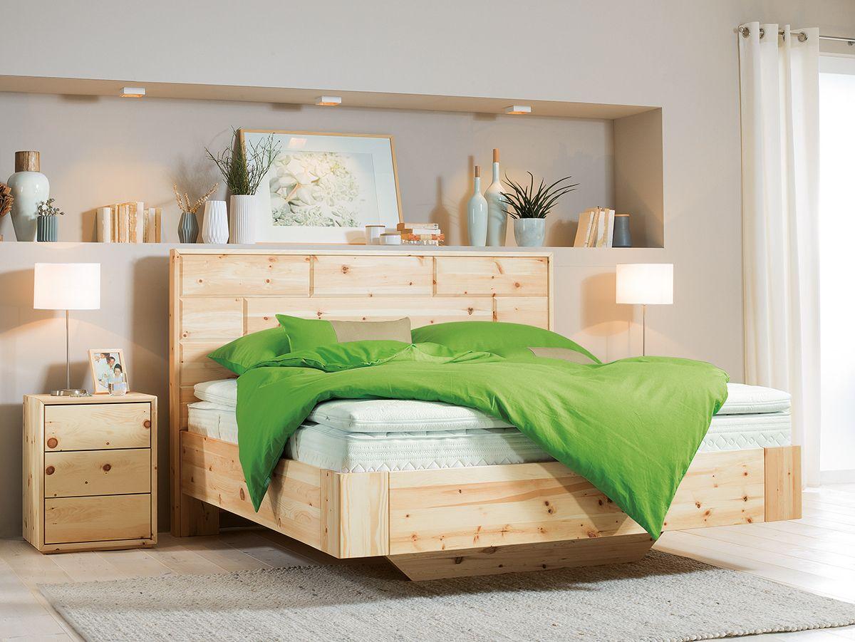 Schlafzimmer Grune Linie 3 #16: Zirbe + Grau + Grün U003d Entspanntes Schlafen ;)