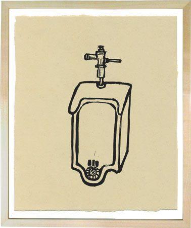 Hugo Guiness linoleum prints awesome