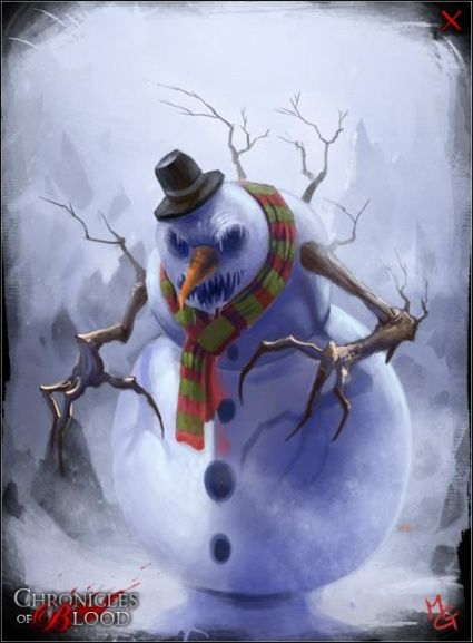 Snowman Clownthis Freaks Me Out Just Pinning ItI Hate Clowns - 18 creepy horror snowmen will take winter next level