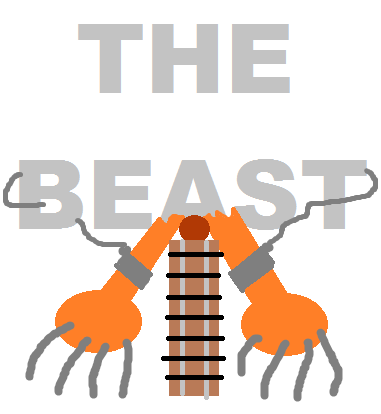 The Beast Roller Coaster Logo By Pikachuxash On Deviantart Coasters Logo Roller Coaster Roller