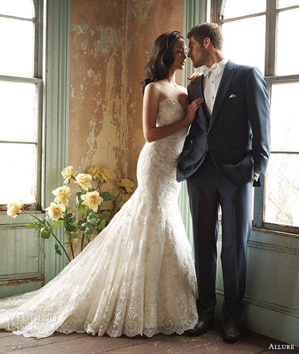 Allure Bridals Fall 2013 Collections — Sponsor Highlight | Allure ...