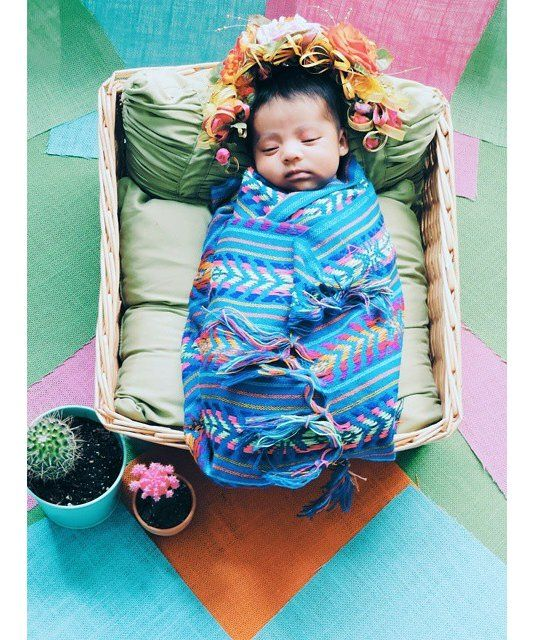54c376ed7 Burrito Frida  Babies Dressed Like Frida Kahlo Fall in love with ...