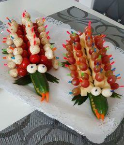 Comida para fiesta de cumplea os infantil 6 meriendas infantiles presentaci n sobre comida - Cumpleanos infantiles comida ...