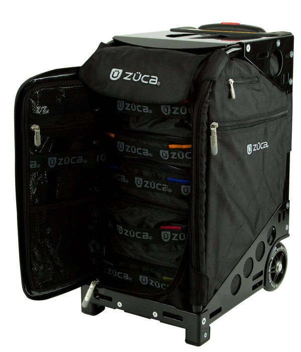 Dresser Styled Seat Luggage Travel Essentials Zuca Bag