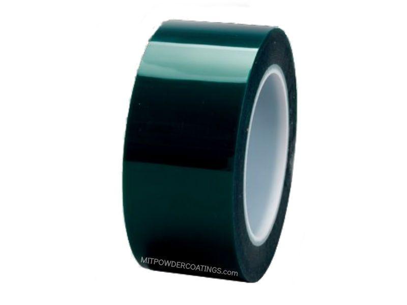 High Temp Polyester Masking Tape Powder Coating Green 2 In X 72 Yd Masking Tape Hot Melt Adhesive Tape