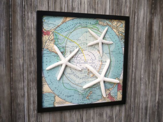 Nautical Wall Decor Pinterest : Cottage chic beach decor wall art nautical by