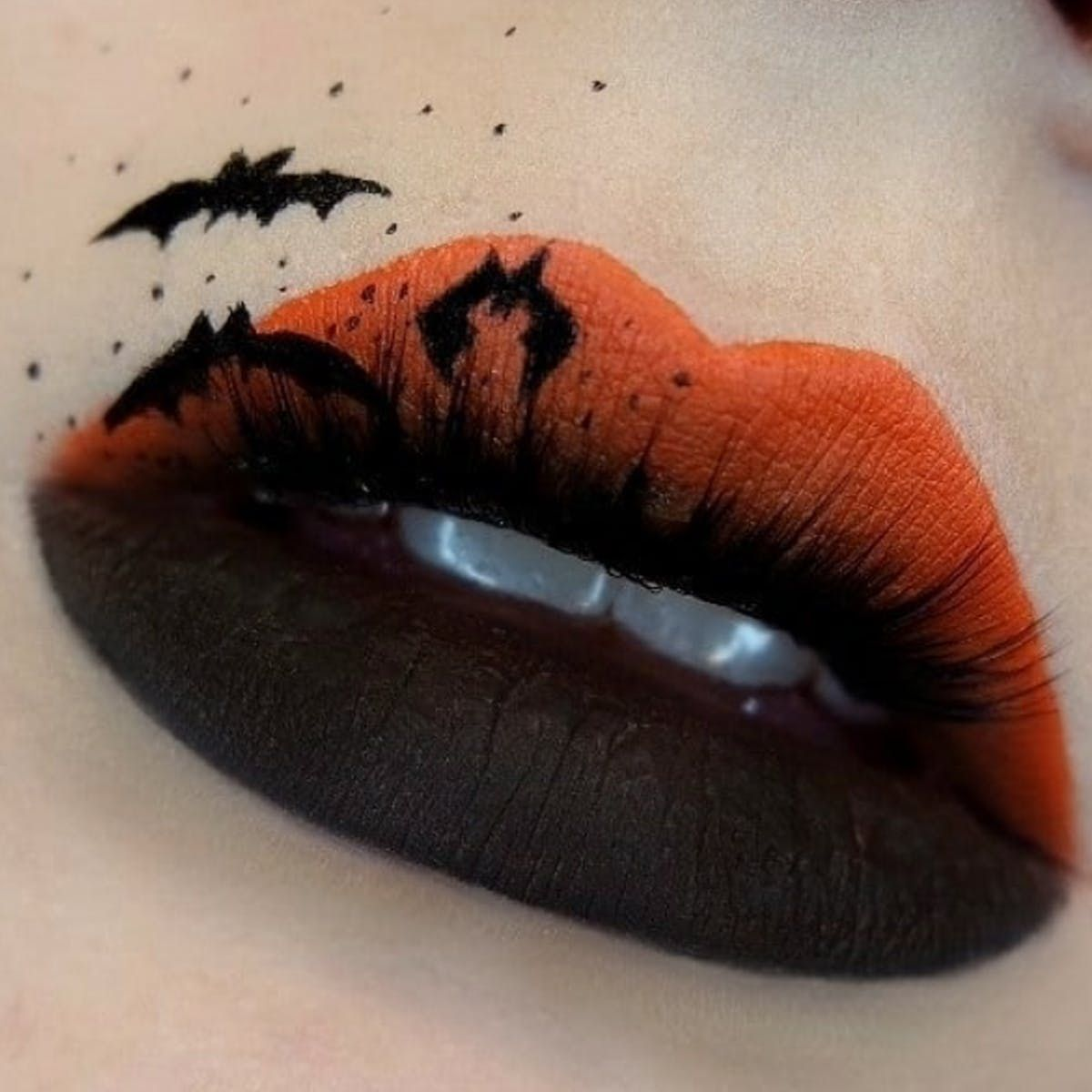 21 Insanely Intricate Lip Art Looks For Halloween Beauty