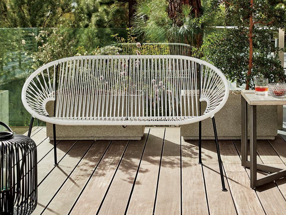 Best Patio Furniture Under 500 Hgtv Com Hgtv With Images Love Seat Outdoor Garden Furniture Outdoor Furniture