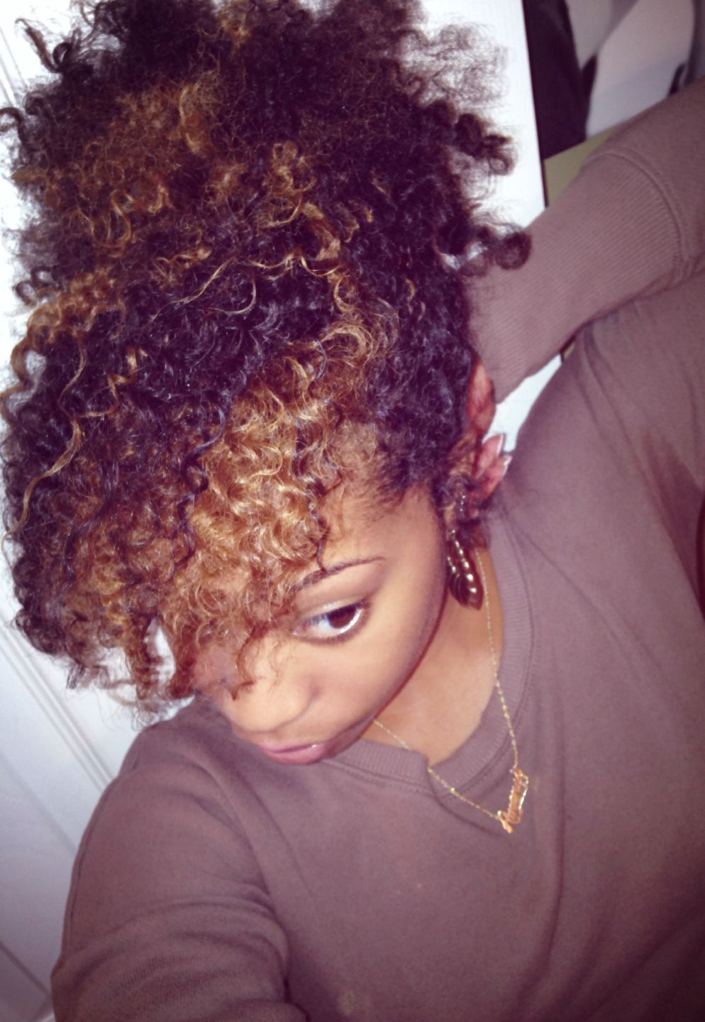 Twist out with color  Hair  Pinterest  Protective styles and