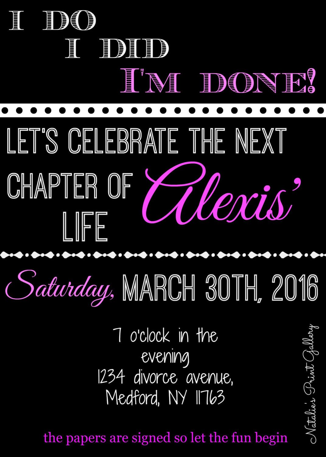 Pin by Courtney Jeffries on divorce party | Pinterest | Divorce ...